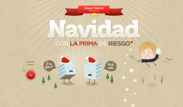 Christmas Illustrated Web Design