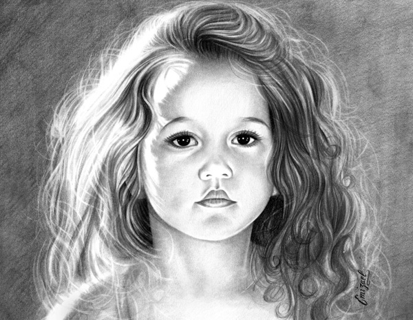 Realistic Pencil Drawings Of Girl Faces