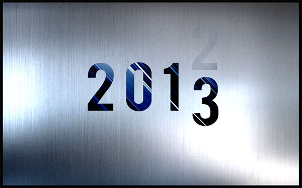 2013 New Years Wallpaper