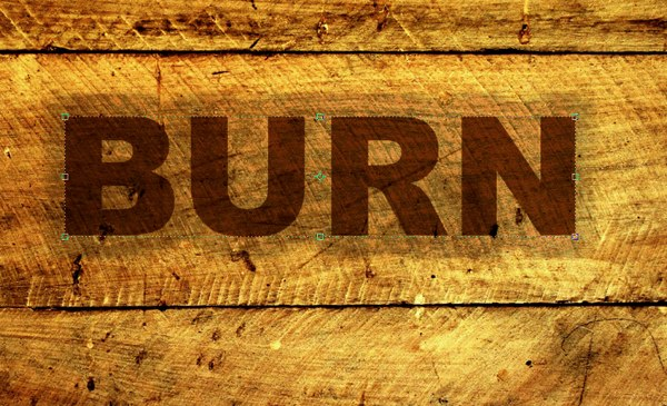 Burnt wood text effect photoshop tutorial step 11 spiritdancerdesigns Choice Image