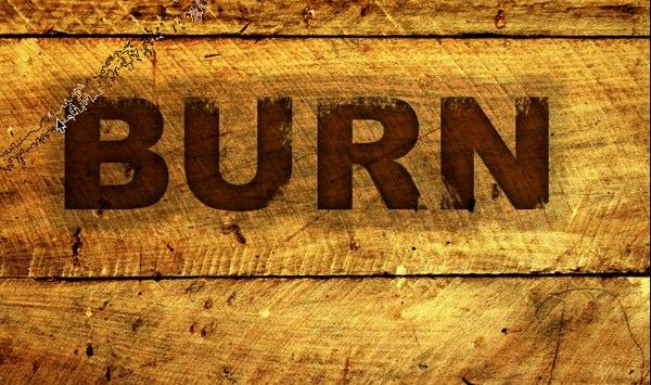 Burnt Wood Text Effect - Photoshop Tutorial