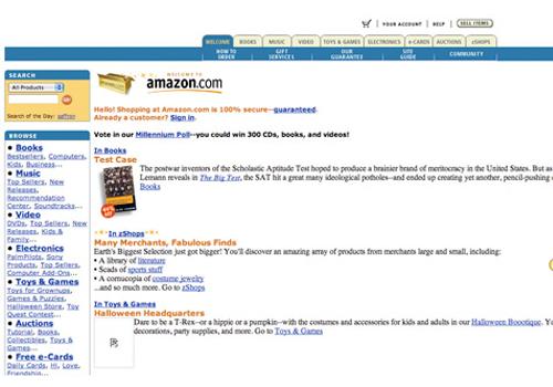 Amazon.com in 1999