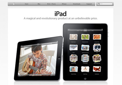 Apple.com in 2010