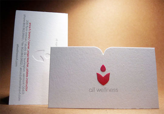 25 letterpressed and embossed business cards sweet harvey reheart Gallery
