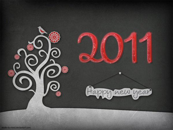 11 Beautiful 2011 Desktop Wallpapers for New Years | Visual Swirl Design
