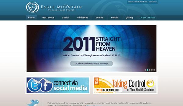 60 of the best church website designs for Best home plan websites