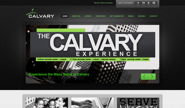 Church Website Design 60 of the Best ...