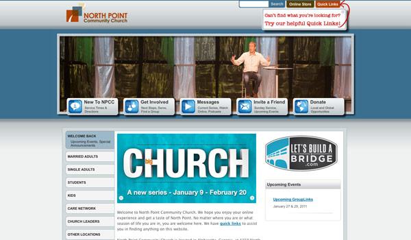 best church website design