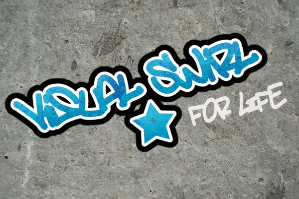 Cartoon Graffiti text effect
