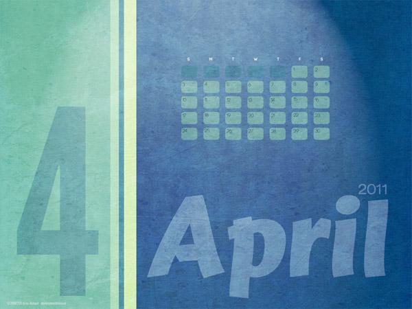 April 2011 Desktop Wallpaper Calendar 5