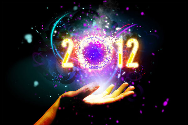 2012 Desktop Wallpaper - Hand Magic