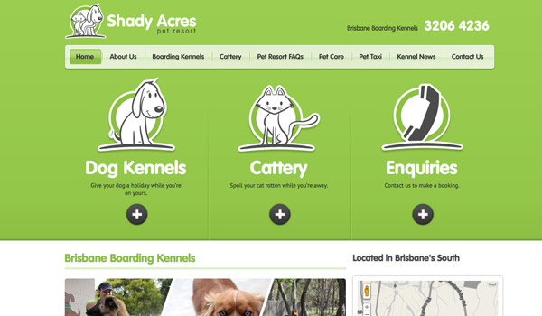 Illustrated Pet Web Design