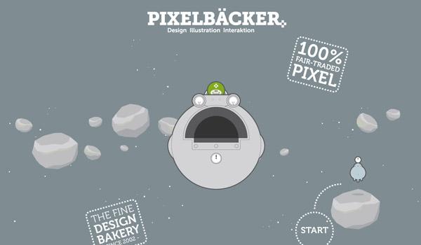 Gray Illustrated Web Design