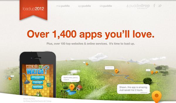 Landscape Illustration Web Design