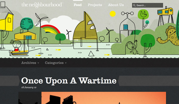 Illustrated Web Design
