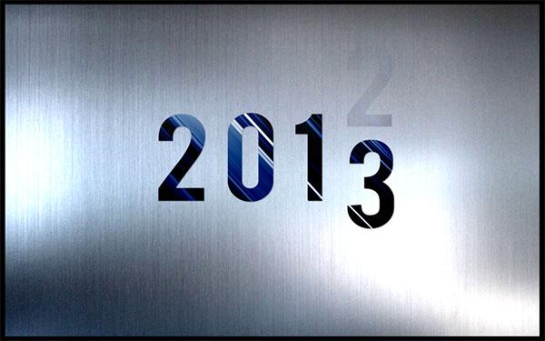 2013 New Years Wallpaper