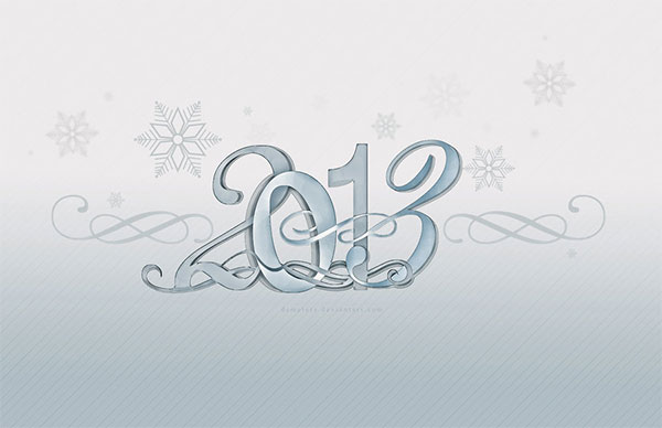 Snowflakes 2013 desktop wallpaper