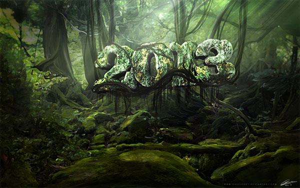 Jungle Wallpaper for 2013 desktop