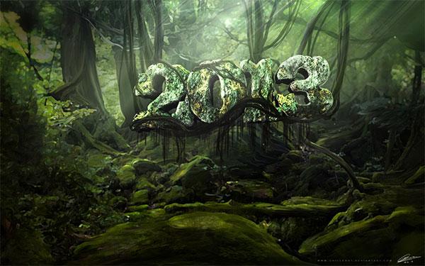 Jungle Wallpaper for 2013 desktop