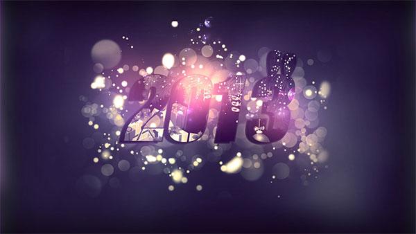 Purple desktop wallpaper for 2013