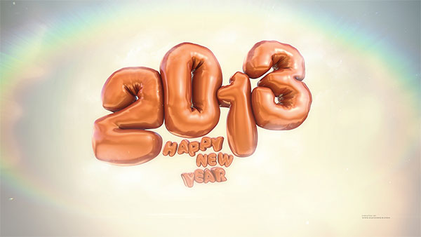 2013 wallpapers balloon new year