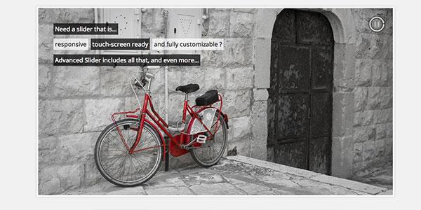 Advanced Slider - customizable jQuery slider