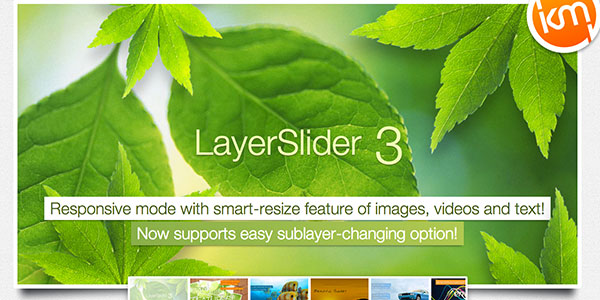 parallax and responsive image slider